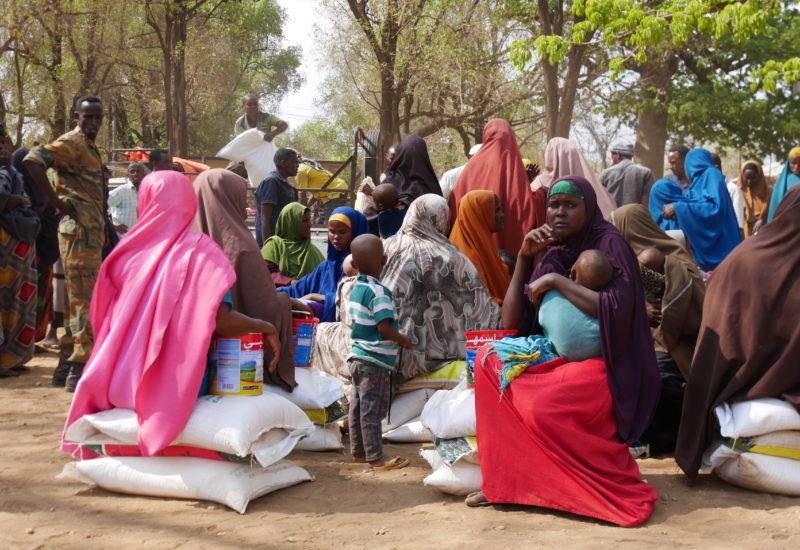Help Somali Organisation, Essensverteilung In Baidoa 2
