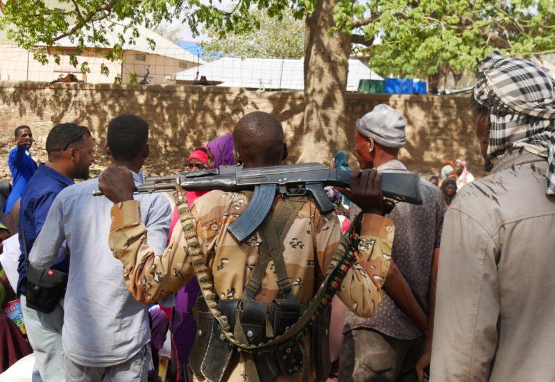 Help Somali Organisation, Essensverteilung In Baidoa 3