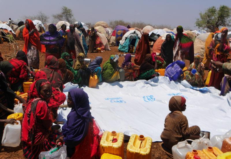 Help Somali Organisation, Wasserlieferung In Camp Baidoa 4